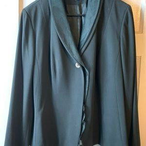 Anne Klein blazer dark green 16